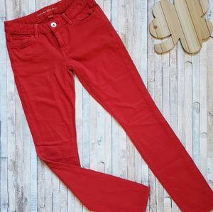 Banana Republic red skinny jeans ♥️ Size 25